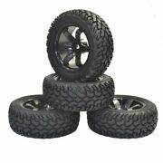 1/10 Rally Car Tyre Grain Rubber Tires Wheels For Traxxas Tamiya Hsp Hpi Kyosho