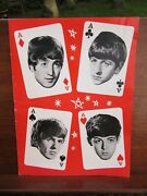 The Beatles Four Aces Mary Wells Uk Concert Programme 9/10/64 To 10/11/64 Ex+