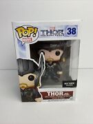 Funko Popmarvel The Dark World 38 Thor With Helmet Hot Topic Exclusive Vaulted