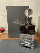 Waterford London Square Smoke Decanter Lead Crystal 25 Oz 40018768 New In Box