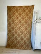 Antique French Victorian Woven Jacquard Fabric 1890 Heavy