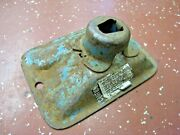 Original 1960and039s Or 1970and039s Era Trunk Mount Bumper Jack Base Stamped Steel Oem Oe