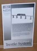 Mth - Railking Trains .. 8 Piece Elevated Trestle System Instruction Manual
