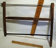 Primitive Antique Bow Buck Saw - Meat Or Metal Saw