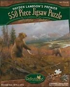 Grizzly Remains 550 Piece Puzzle - Hayden Lambson