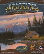 Tranquility 550 Piece Puzzle - Hayden Lambson
