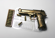 Gun Mold Chocolate Mold Cake Decoration Highly Detailed Plastic Mold Bullets