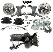 1973 87 C10 Gmc Truck D52 Wilwood Booster Disc Brake Conversion Kit Drop Spindle