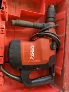Hilti Te 76-atc Rotary Hammer Drill W/bits And Case Tested Preowned + 1 Bit