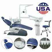 Usa Computer Controlled Dental Unit Chair Tj2688 A1 Doctor Stools Yellow Fda Ce