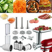 Food Meat Grinder And Prep Slicer Shredder Attachment For Kitchen Aid Stand Mixer