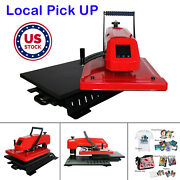 16and039and039 X 20 Swing Away Manual 3d Sublimation T-shirt Heat Press Machine - Pick Up