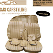 Seat Covers For Mercedes Benz W123 T Model Estate 3. Series Date 250 240 230 Etc