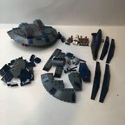 Lego Star Wars The Clone Wars Hyena Droid Bomber 8016 Parts Lot W/ Figures