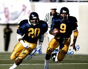 Major Harris And Craig Taylor Wvu Mountaineers Autographed 8x10 Photo Proof
