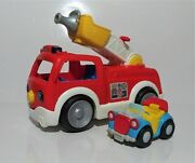 Fisher Price Little People Lift N Lower Fire Truck And Donald Duck Bouncing Car