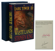 Dark Tower Iii The Waste Lands Stephen King Signed Limited First Edition 1st