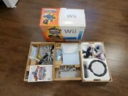 Nintendo Wii Limited Edition Blue Console System Skylanders Giants Complete Euc