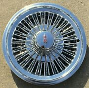 1972-1979 Oldsmobile Cutlass F-85 14 Inch Wire Spoke Hub Cap Wheel Cover Oem