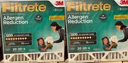 3m Filtrete 1200 Air Filter 20x20x4 Bacteria And Virus Germs Ac Allergen2 Pack