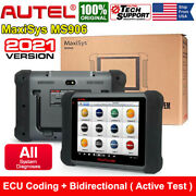 Autel Maxisys Ms906 Obd2 Diagnostic Scanner All System Key Coding Bidirectional