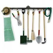 Dolls House Hanging Garden Tools Miniature Reutter Potting Shed Accessory Set