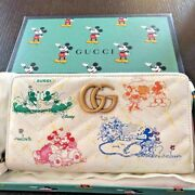 Disney Mickey Minnie Mouse Collaboration Long Wallet Zip Around Limited