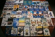 Lot Of 45 St. Louis Blues Media Guides Nhl Hockey 1967