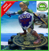 New The Legend Of Zelda Link Breath Of The Wild Action Figures Collectible Pvc