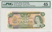 Bank Of Canada Canada 20 1979 Misalignment Pmg 45