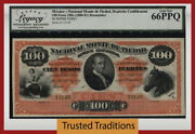 Tt Pk S269r1 1880-81 Mexico 100 Pesos First Time Offered Lcg 66 Ppq Finest Known