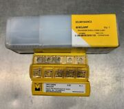 New - Kennametal Lathe Insert Tool Holder And 15 Carbide Inserts