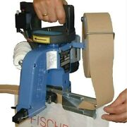 Fischbein Model F Tape Sew Hand Held Portable Bag Closer With Attachment 115v