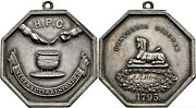 Rare1795 Harvard Hasty Pudding Club 40mm/40mm Silver Au 305 Made 7 Known