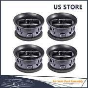 For 2009-2014 Ford F-150 Dashboard Ac Heater Air Vent Duct 9l3z19893aa 4pcs