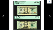 2 Gems New Pcgs 65and66 Three Digit Serial Number 848 And 948fort Worth 2009 20