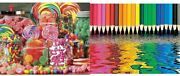 Springbok's 1000 Piece Jigsaw Puzzle Candy Galore And 500 Piece...