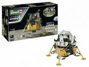 Revell Of Germany 1/48 Apollo 11 Lunar Module Eagle W/paint And Glue Kit 3701mib