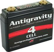 New - Antigravity Batteries Ag-401 Lithium Motorcycle Battery 120 Cca 4-cell 12v