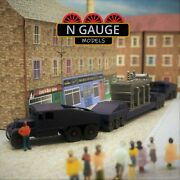Push Pull Heavy Haulage And Transformer N Gauge Scale 1148 Ready To Go Lorry