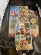 Super Mario 3d All-stars Plus Collectible Coin Set Both Items Discontinued