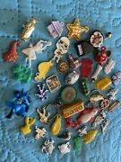 Vintage Set Gumball Charms Prizes Toys