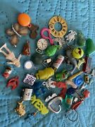 Vintage Set Gumball Charms Prizes Toys And More