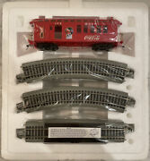 Bachmann Coca-cola Holiday Express Hawthorne Village Box Car And Track Parts
