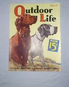 Outdoor Life Magazine Vintage March 1936