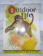 Outdoor Life Magazine Vintage March 1932