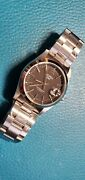 Rare Alpha 1993 Oyster Datejust Matte Black Dial Stainless Steel Automatic Watch