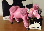 French Moodle Poodle Cow 9146 Westland Cows On Parade 2002 W/ Box + Tag