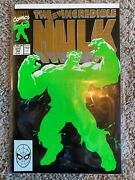 Incredible Hulk 377 1991 Ideal And Unread Rare Second Printing 2nd Print