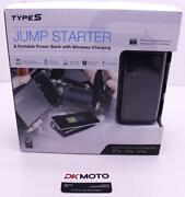 Type S Jump Stater Portable Power Bank Wireless Charging 8000mah R10
